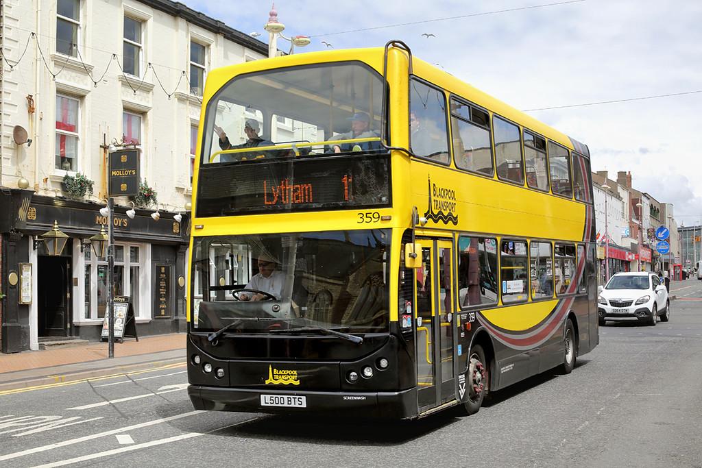 359 L500BTS, Blackpool 1/7/2016