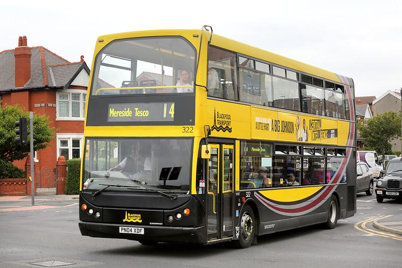 322 PN04XDF, Blackpool 30/6/2016