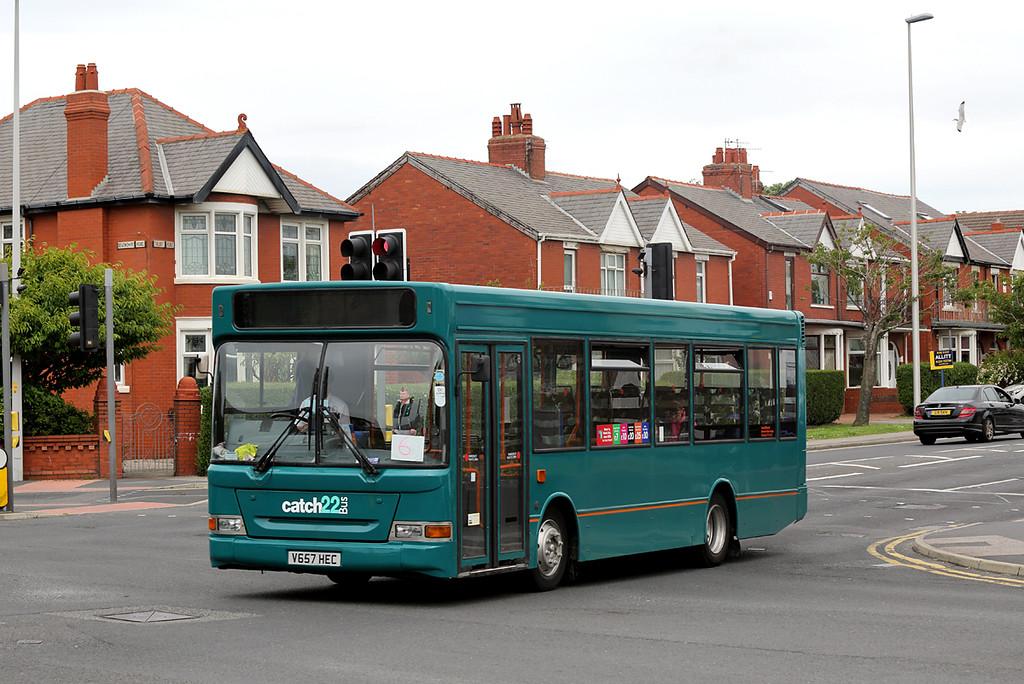 V657HEC, Blackpool 30/6/2016