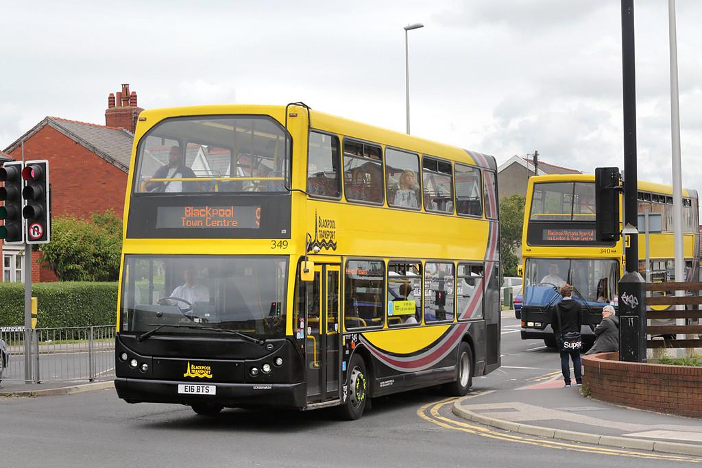 349 E16BTS, Blackpool 30/6/2016