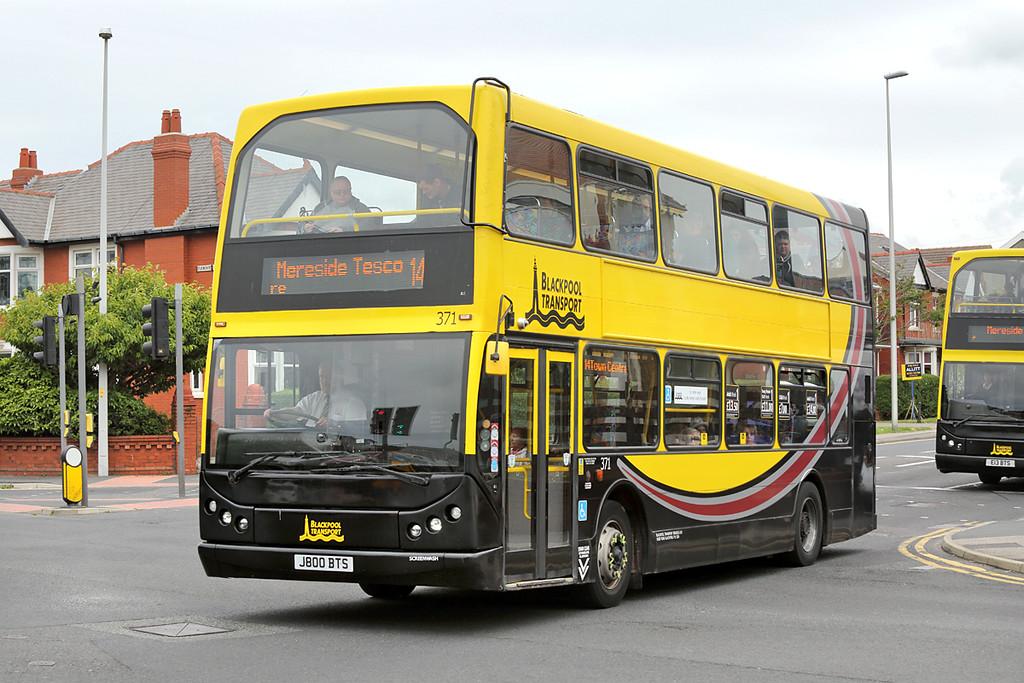 371 J800BTS, Blackpool 30/6/2016