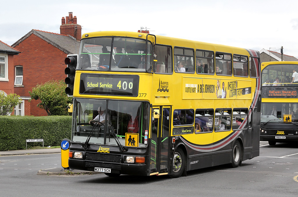 377 M377SCK, Blackpool 30/6/2016