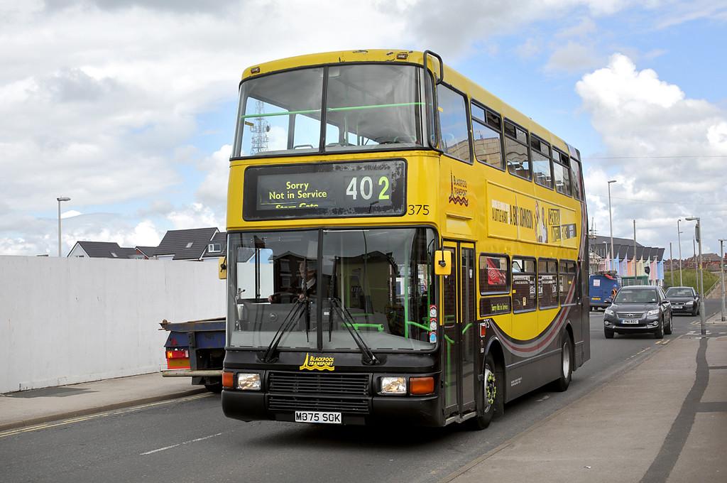 375 M375SCK, Blackpool 1/7/2016