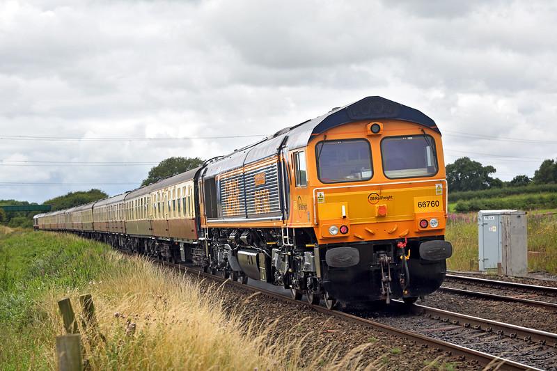 66760 Salwick 30/7/2016<br /> 1Z24 0658 Doncaster-Blackpool North