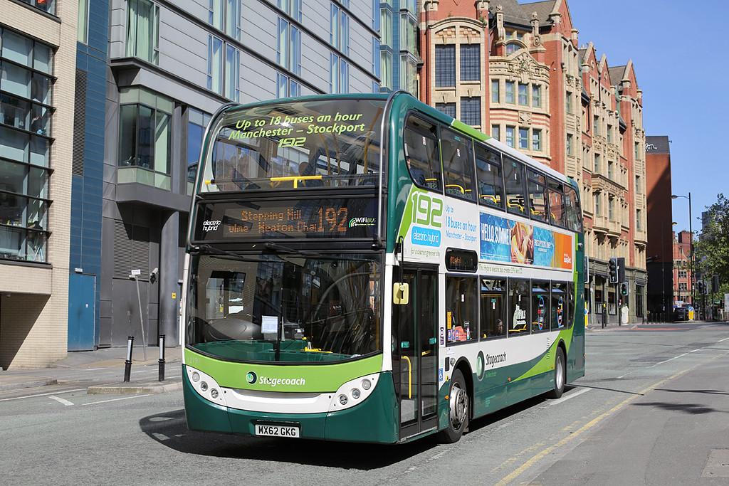 12191 MX62GKG, Manchester 31/5/2016