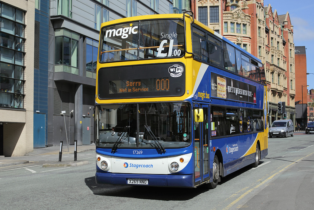 17269 X269NNO, Manchester 31/5/2016
