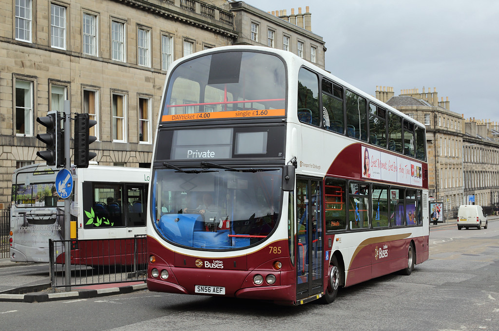785 SN56AEF, Edinburgh 31/8/2016