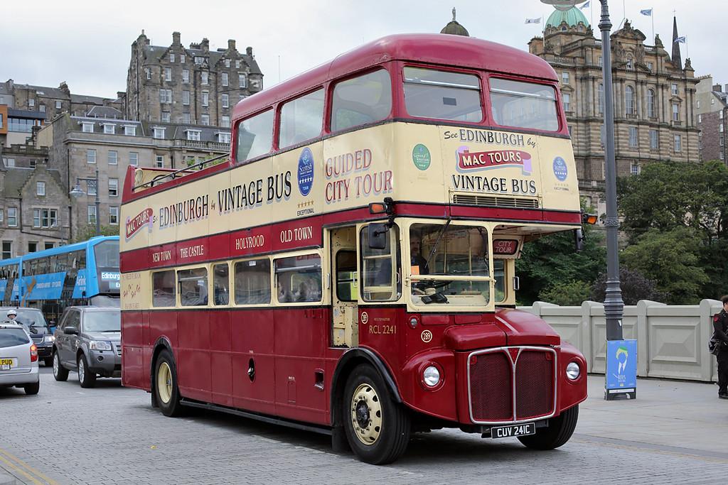 289 CUV241C, Edinburgh 31/8/2016