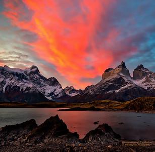 Torres del Paine Sunset
