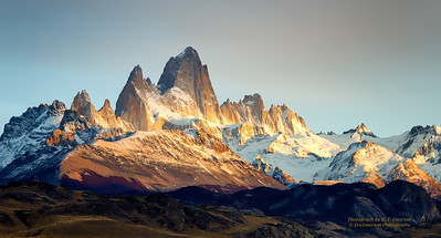 Fitz Roy Massif Sunrise