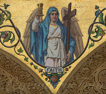 Faith Mosaic Angel
