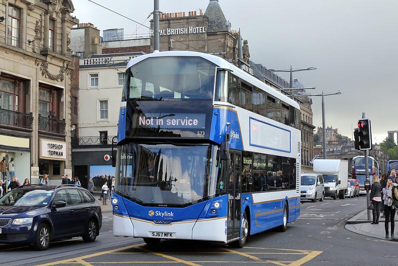 573 SJ67MFK, Edinburgh 1/9/2017