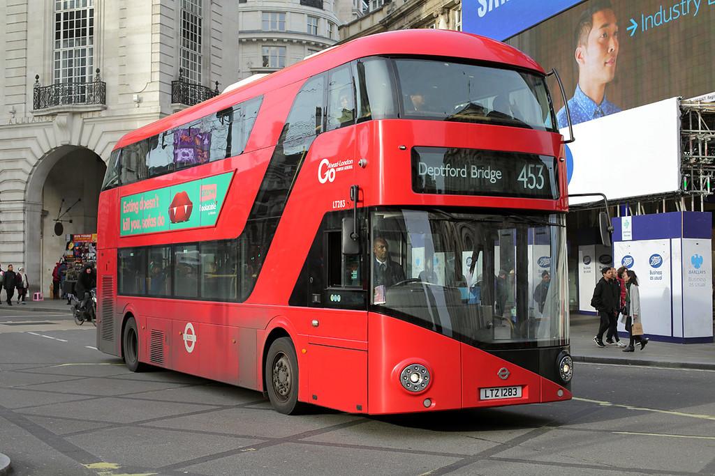LT283 LTZ1283, Piccadilly Circus 3/1/2017