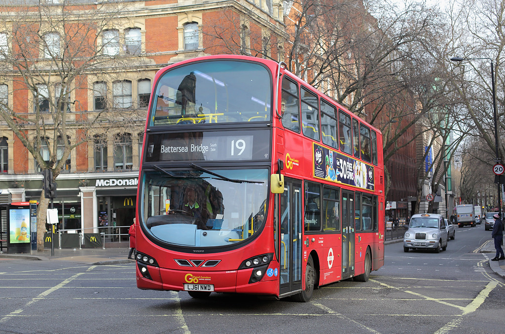 WVL491 LJ61NWD, Cambridge Circus 3/1/2017