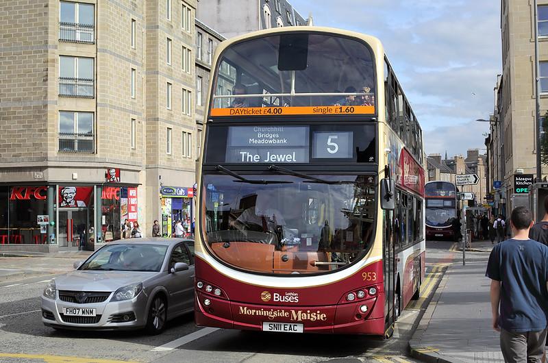 953 SN11EAC, Edinburgh 3/7/2017