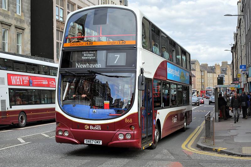 868 SN57GMX, Edinburgh 3/7/2017