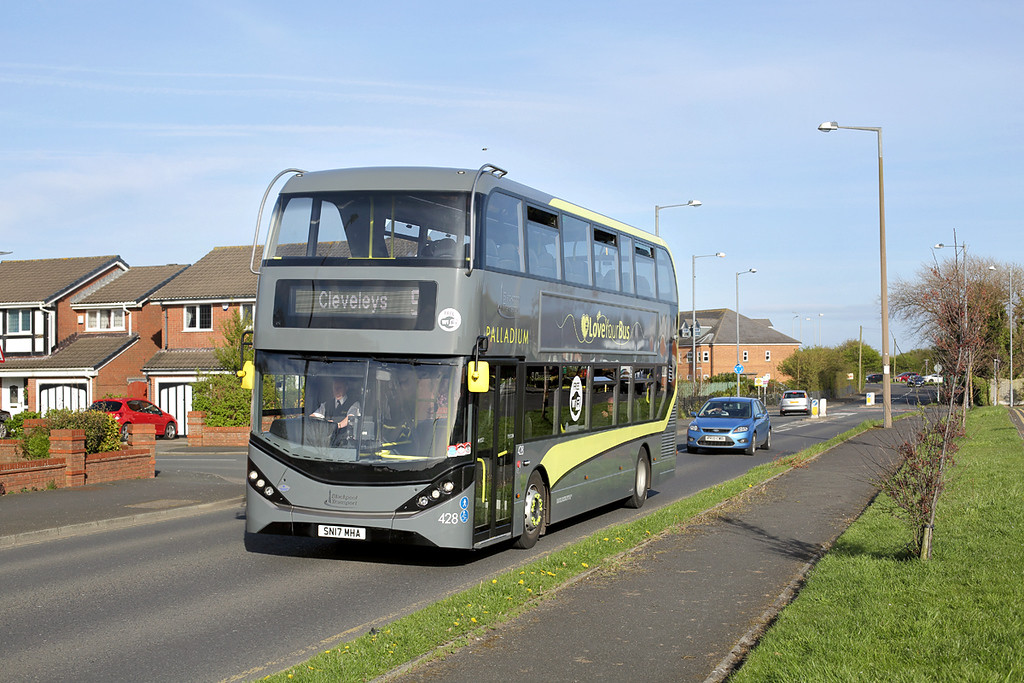 428 SN17MHA, Anchorsholme 4/4/2017