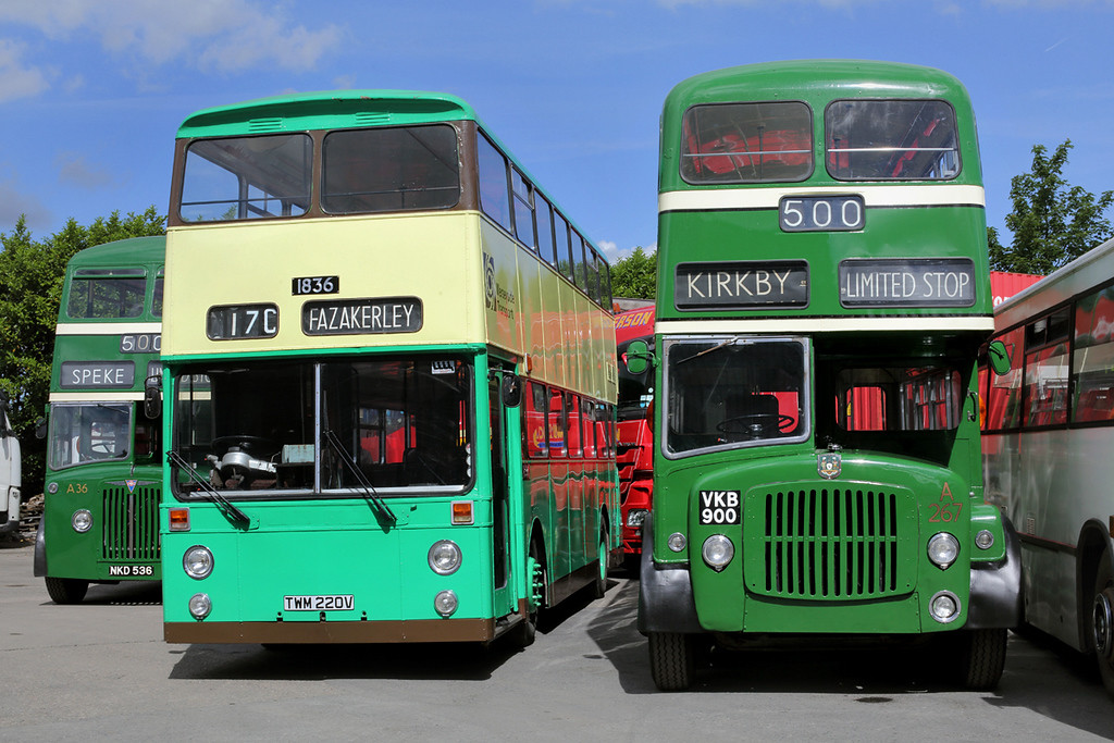 1836 TWM220V and A267 VKB900, Kirkby 4/6/2017