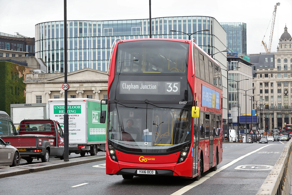 EH57 YX16OCO, London Bridge 4/9/2017