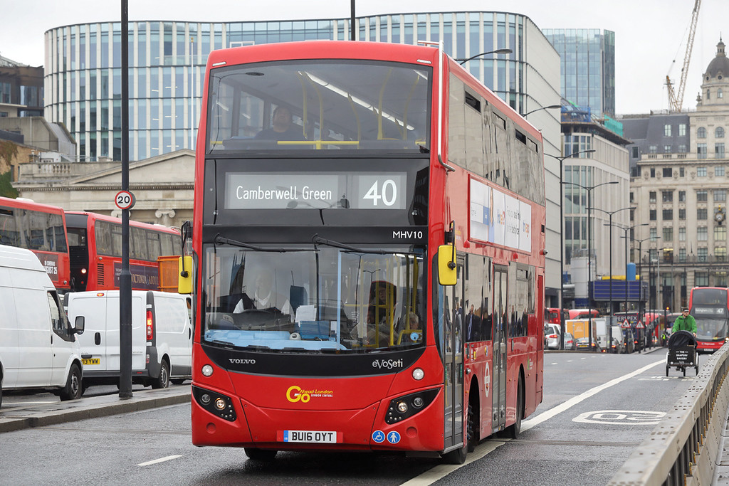 MHV10 BU16OYT, London Bridge 4/9/2017