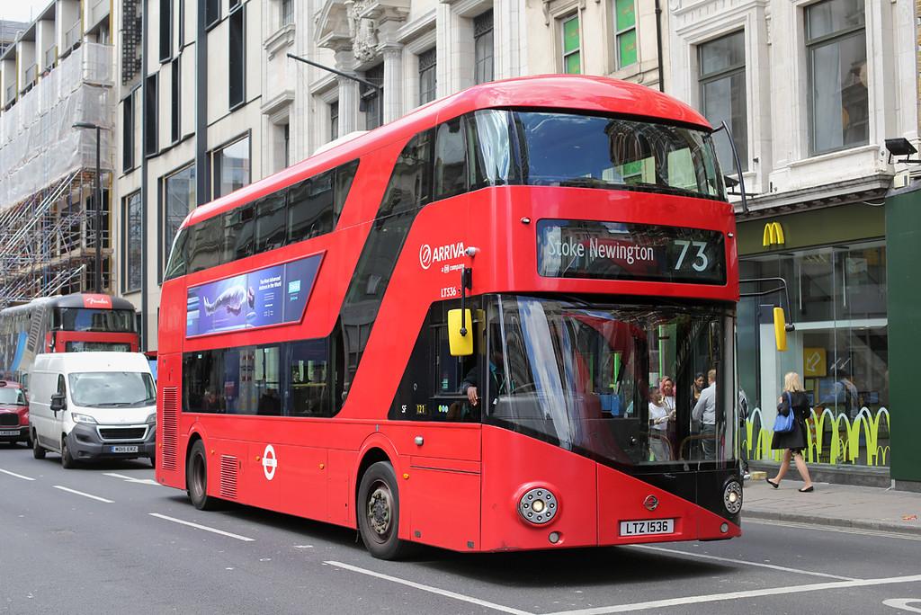 LT536 LTZ1536, Tottenham Court Road 7/6/2017