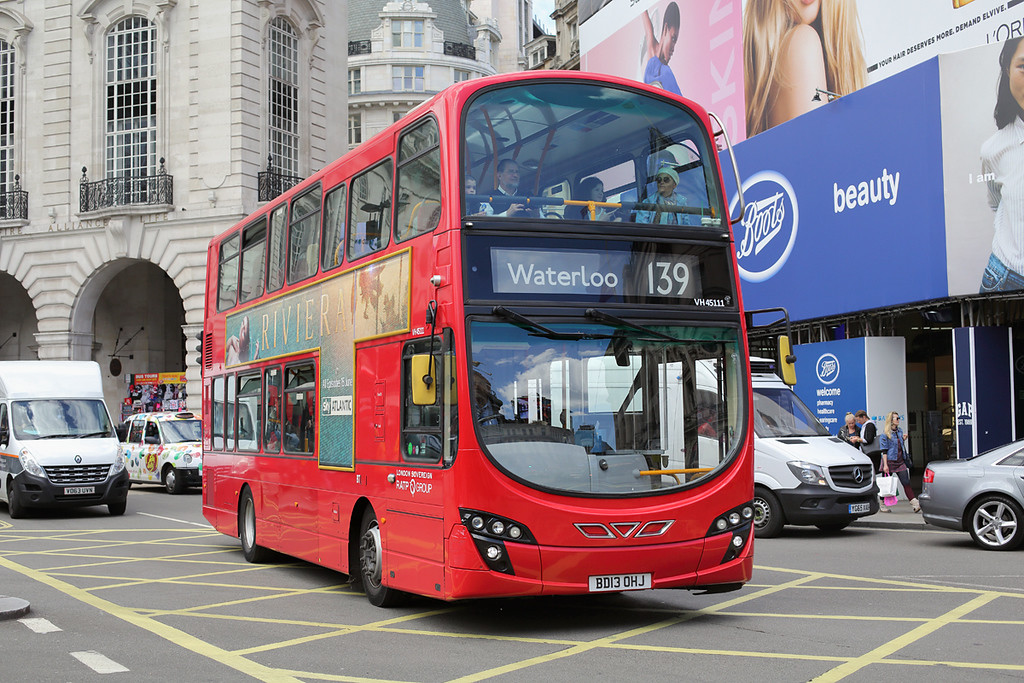VH45111 BD13OHJ, Piccadilly Circus 7/6/2017