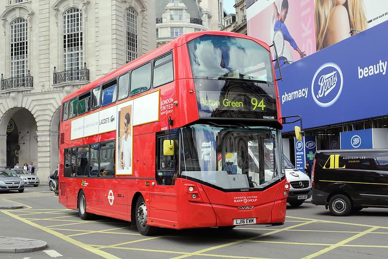 VH45189 LJ16EWM, Piccadilly Circus 7/6/2017
