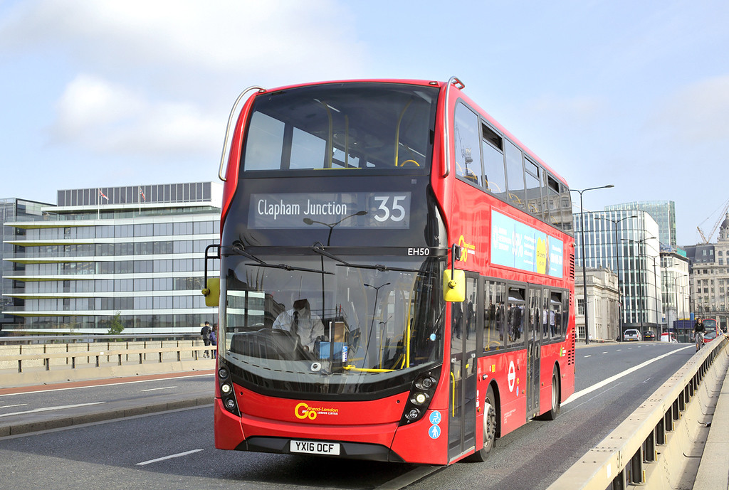 EH50 YX16OCF, London Bridge 7/9/2017