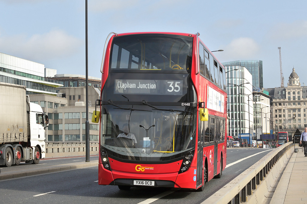 EH48 YX16OCD, London Bridge 7/9/2017