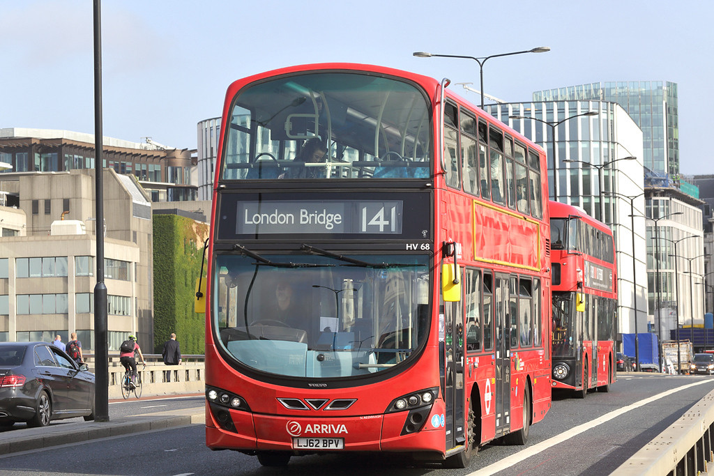 HV68 LJ62BPV, London Bridge 7/9/2017