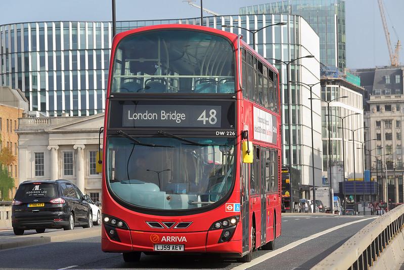 DW226 LJ59AEV, London Bridge 7/9/2017