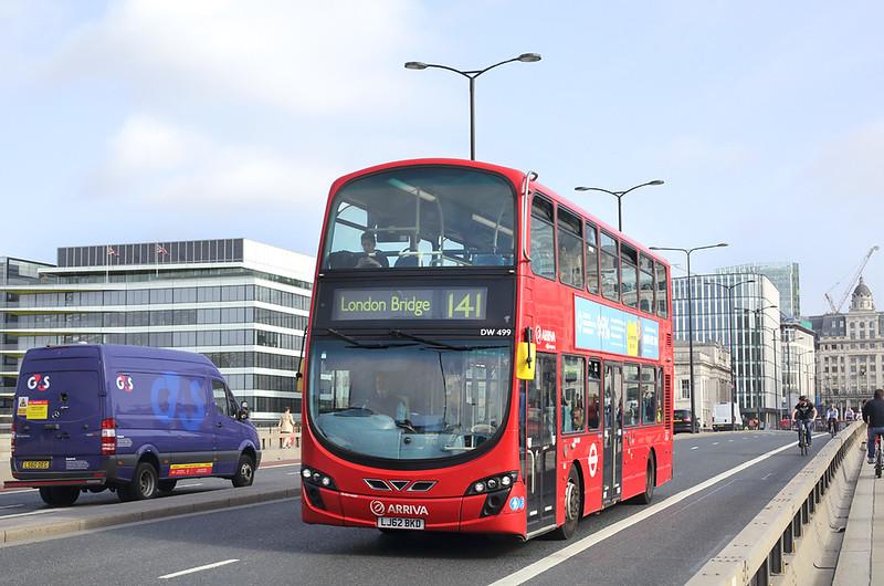 DW499 LJ62BKD, London Bridge 7/9/2017
