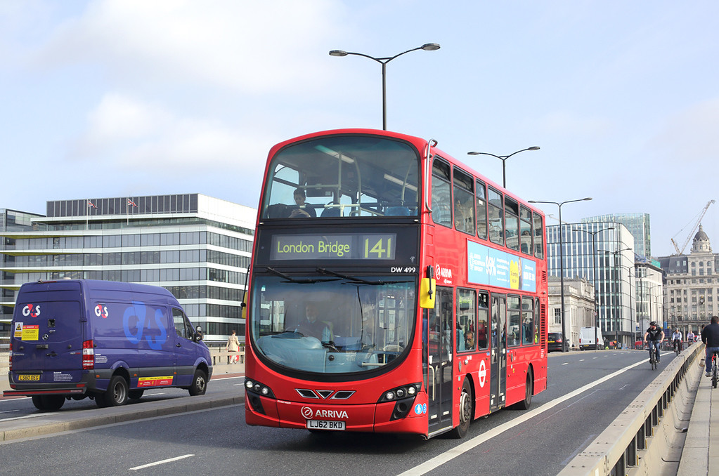 DW499 LJ62BKD, London Bridge 7/9/2017