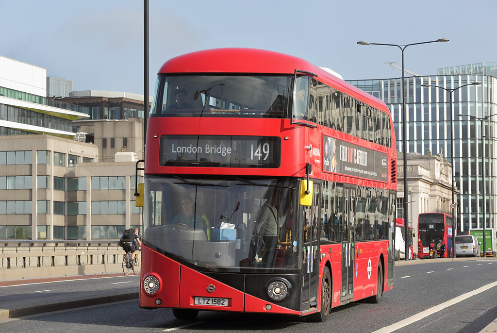 LT582 LTZ1582, London Bridge 7/9/2017