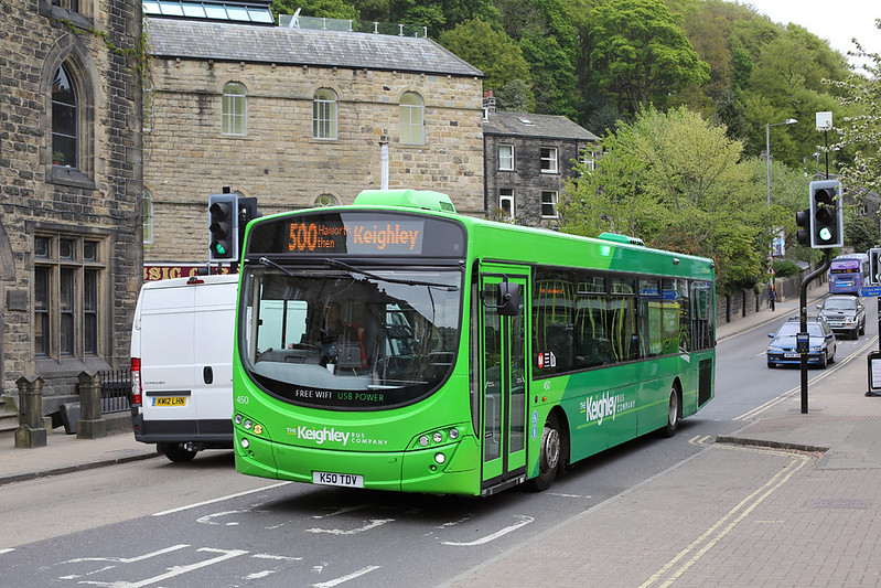 450 K50TDV, Hebden Bridge 9/5/2017