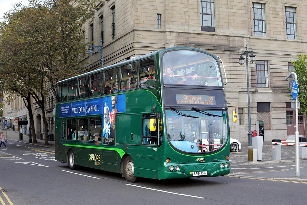 7002 SP54CHG, Dundee 9/10/2017