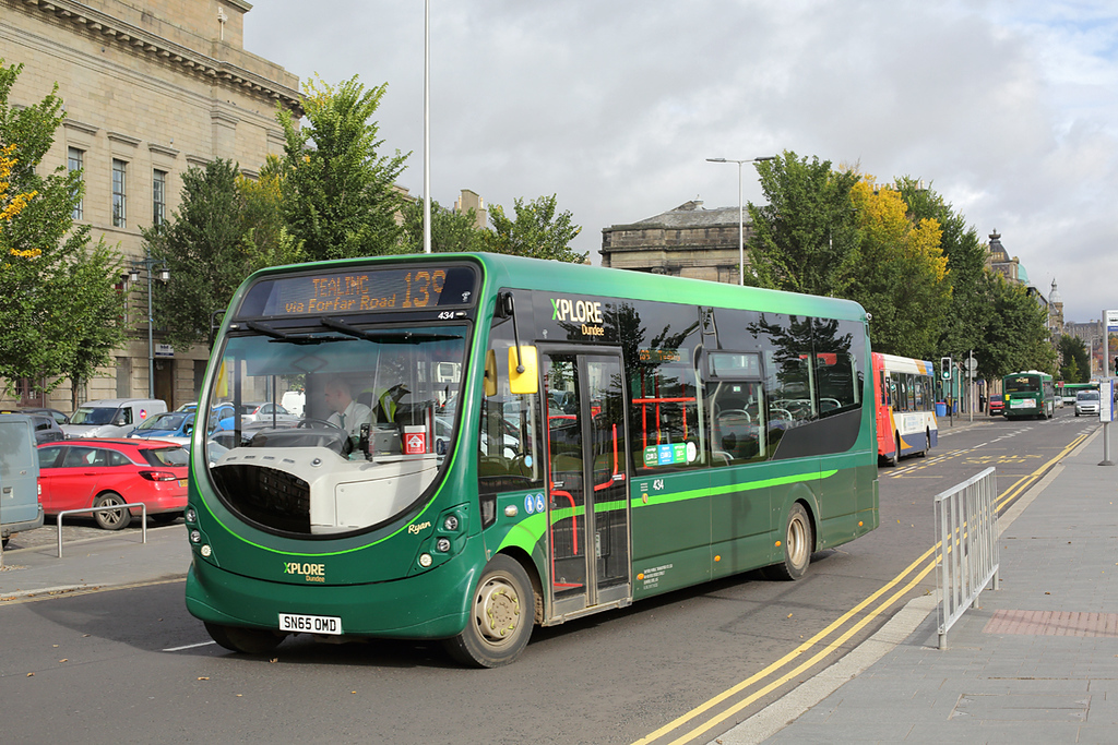 434 SN65OMD, Dundee 9/10/2017