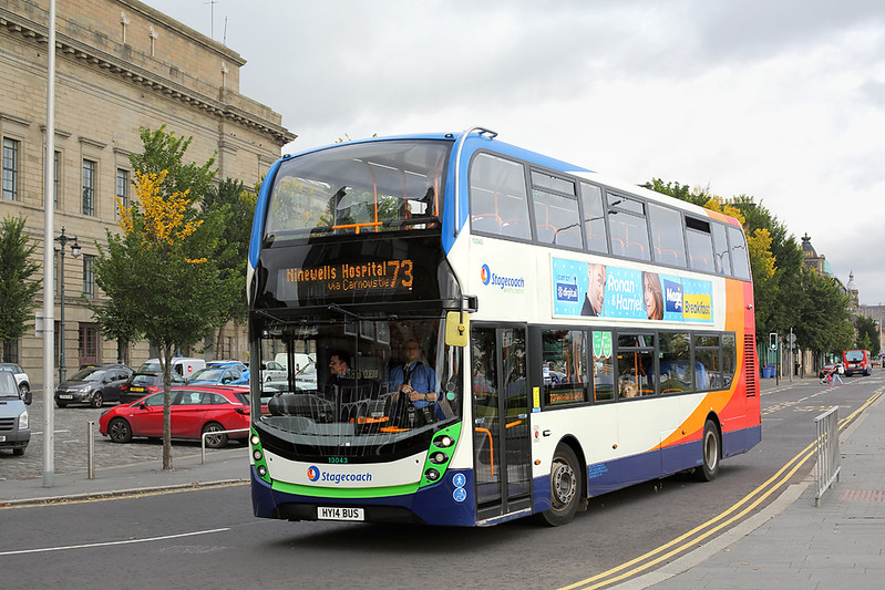 13043 HY14BUS, Dundee 9/10/2017