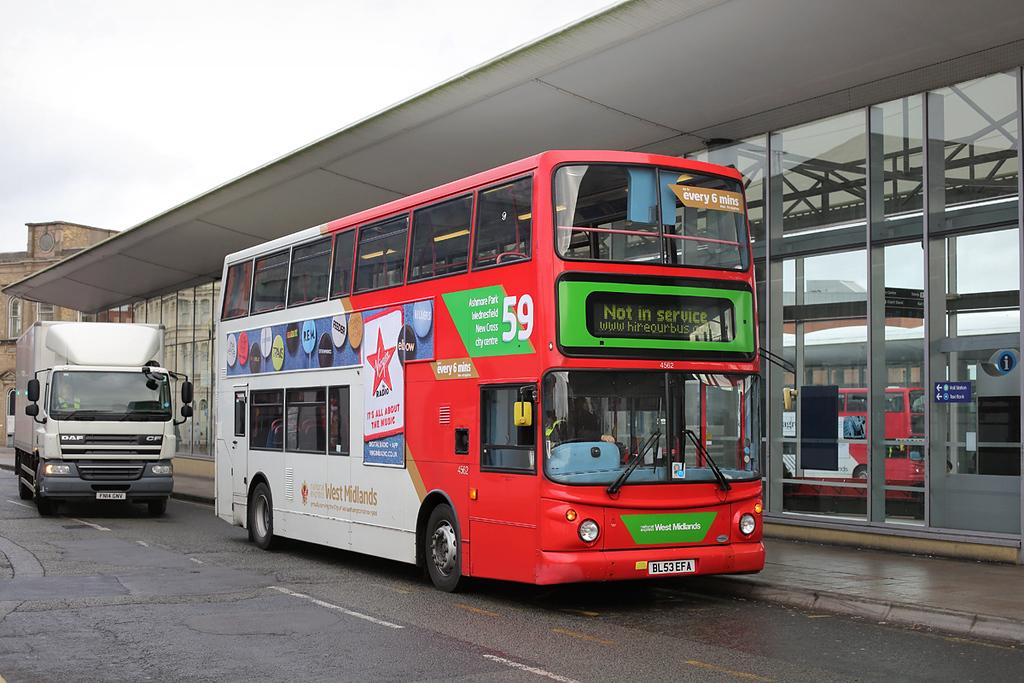 4562 BL53EFA, Wolverhampton 9/11/2017