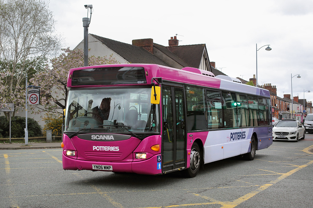 65041 YN06WMP, Crewe 10/4/2017