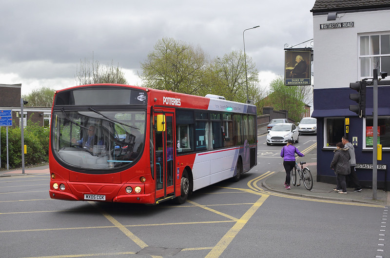 66843 MX05CGK, Crewe 10/4/2017