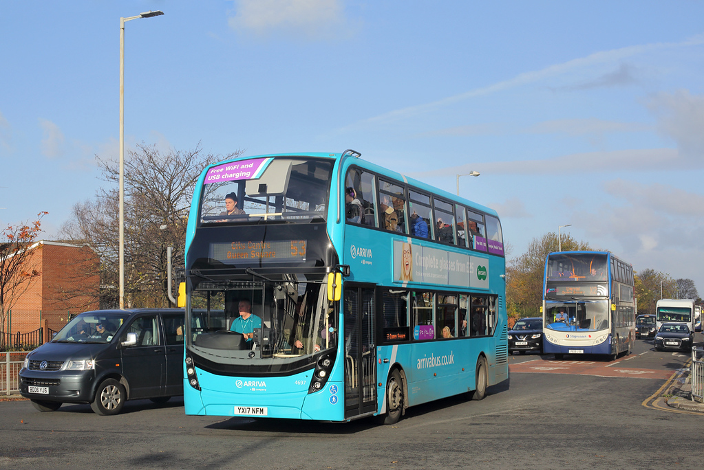 4697 YX17NFM, Bootle 10/11/2017