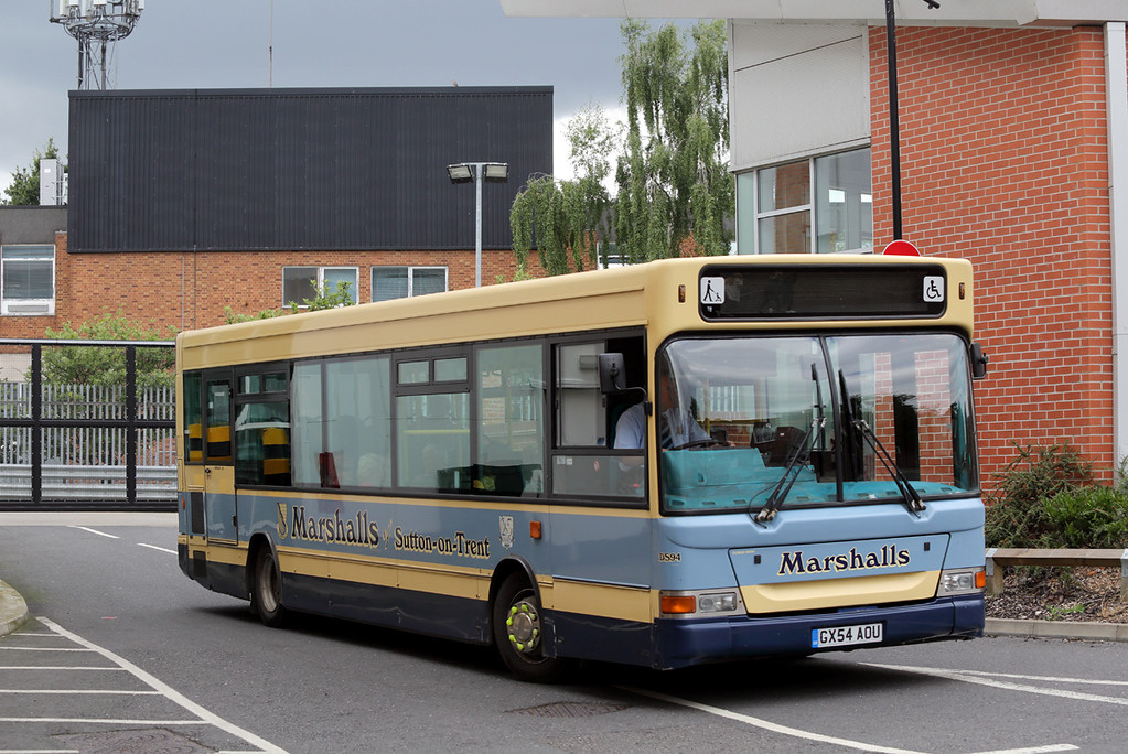 DS94 GX54AOU, Newark-on-Trent 12/8/2017