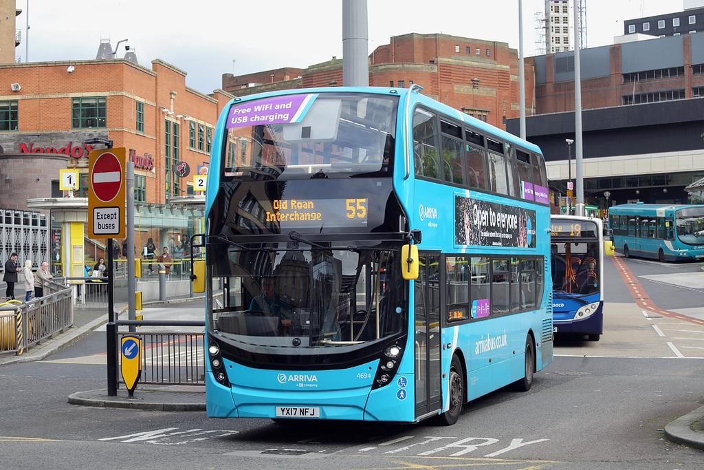 4694 YX17NFJ, Liverpool 12/10/2017