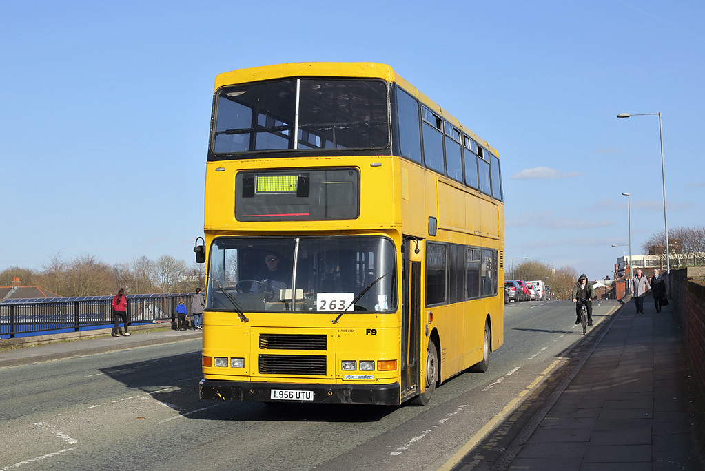 F9 L956UTU, Warrington 15/3/2017