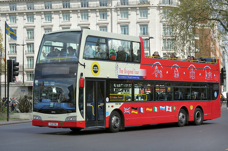 VXE726 YJ11TVK, Marble Arch 15/4/2017