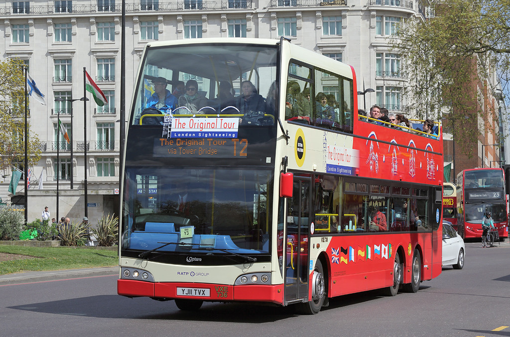 VXE736 YJ11TVX, Marble Arch 15/4/2017