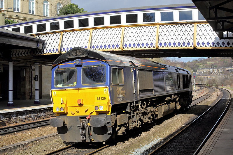 66426 Dewsbury 16/3/2017<br /> 0D01 0555 York Parcel Sidings-York Parcel Sidings<br /> (via Manchester Victoria)