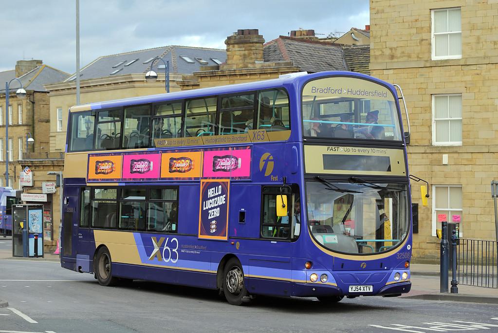 32508 YJ54XTV, Huddersfield 16/3/2017