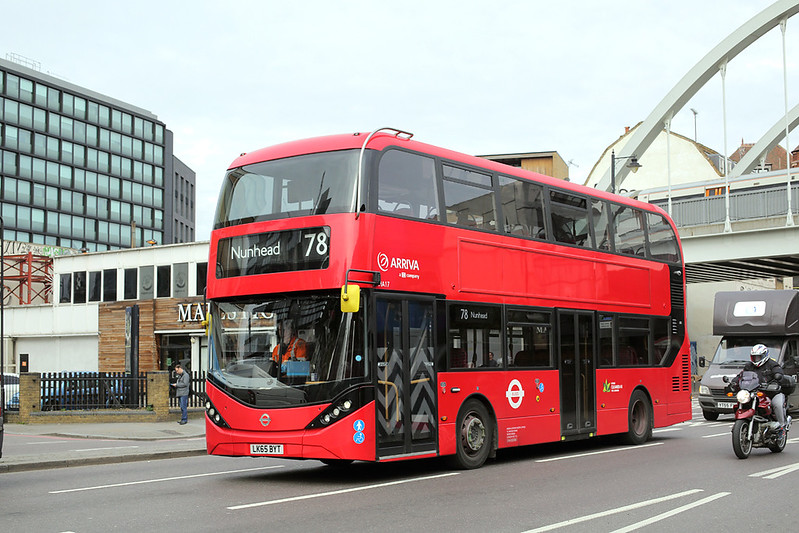 HA17 LK65BYT, Shoreditch 17/3/2017